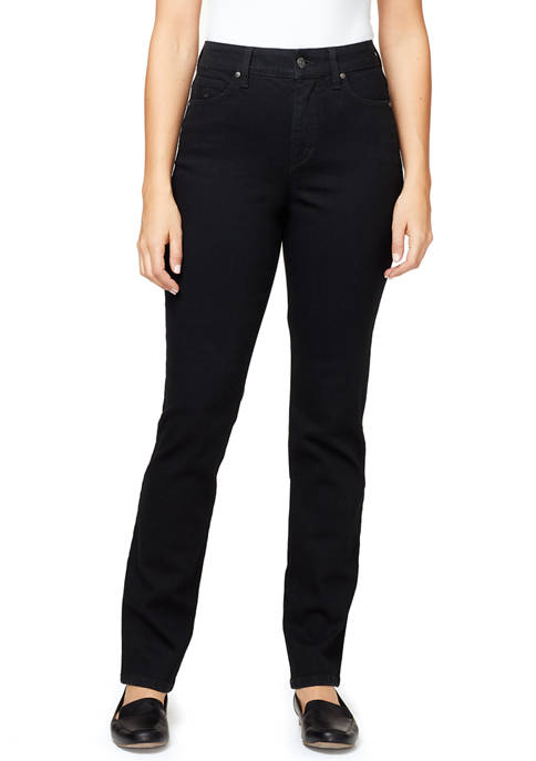 Gloria Vanderbilt Womens Amanda Slim Jeans with Embroidered