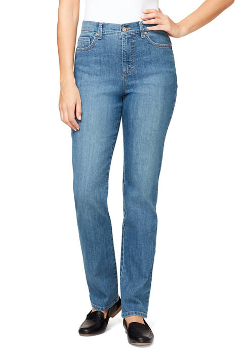 Gloria Vanderbilt Womens Amanda Denim Jeans- Short