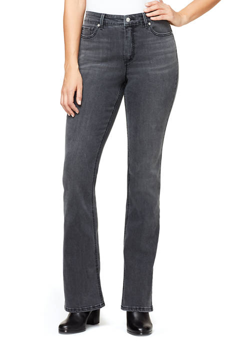 Gloria Vanderbilt Womens Mid Rise Bootcut Jeans