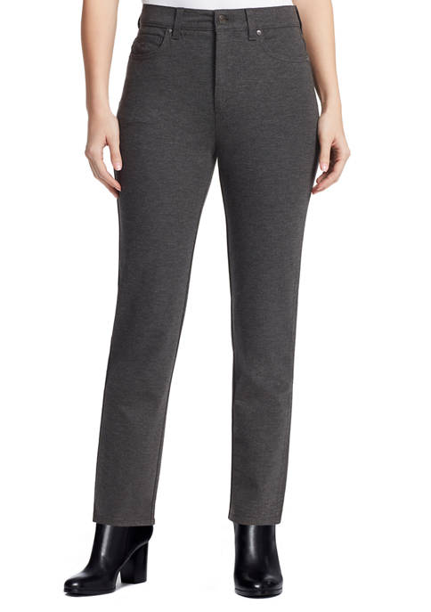 Gloria Vanderbilt Womens Amanda Ponte Pants
