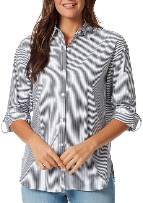 Gloria Vanderbilt Womens Amanda Button Down Shirt