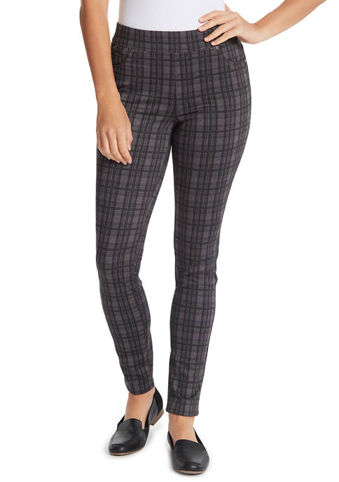 Gloria Vanderbilt Womens Avery Pull On Pants