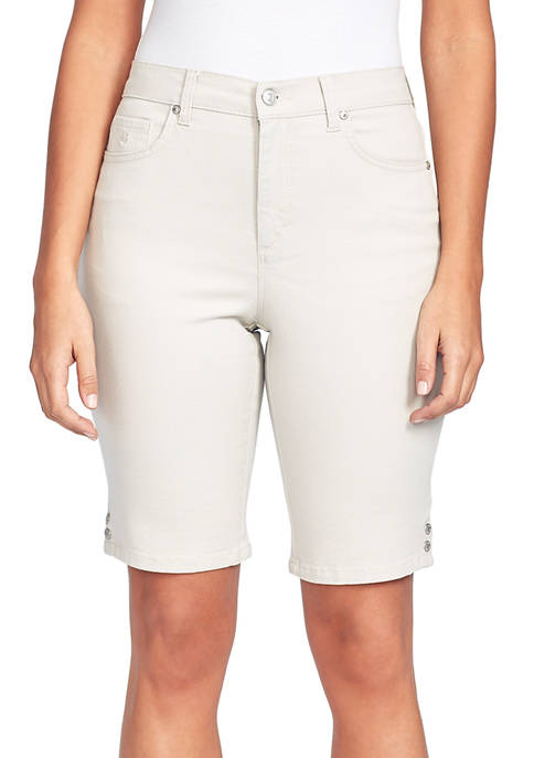 Gloria Vanderbilt Womens Amanda Bermuda Shorts