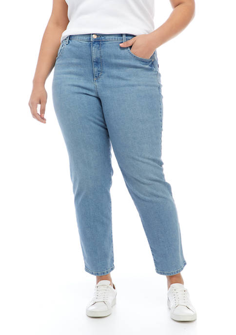 Gloria Vanderbilt Plus Size Average Length Denim Jeans