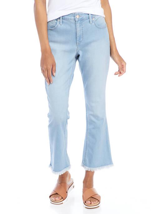 Gloria Vanderbilt Womens Mid Rise Cropped Jeans