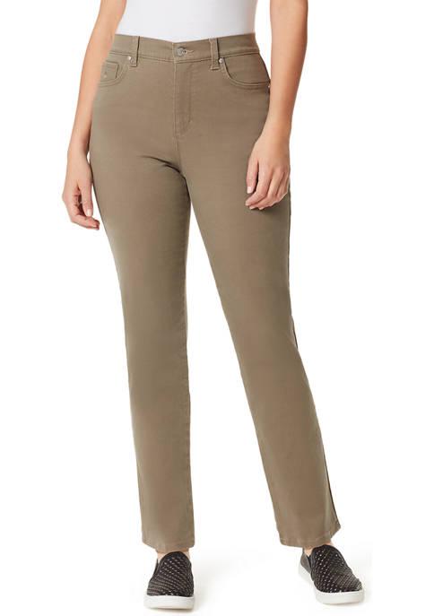 Gloria Vanderbilt Womens Amanda Straight Jeans- Average Length