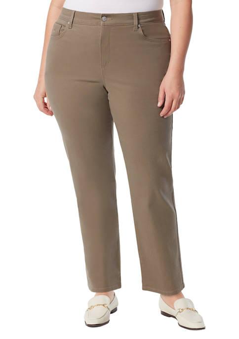 Gloria Vanderbilt Plus Size Amanda Color Jeans- Average
