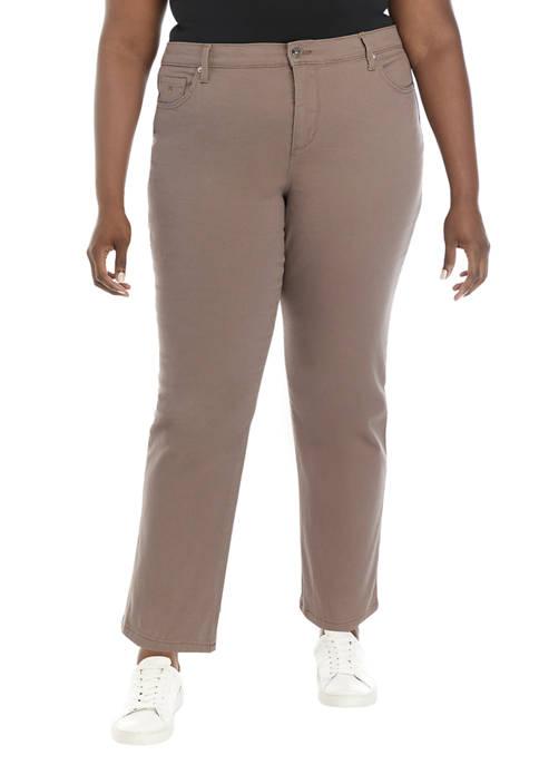 Gloria Vanderbilt Plus Size Amanda Color Wash Jeans