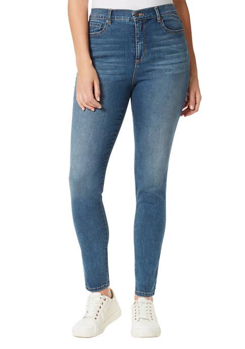 Gloria Vanderbilt Womens Amanda Skinny Average Length Jeans