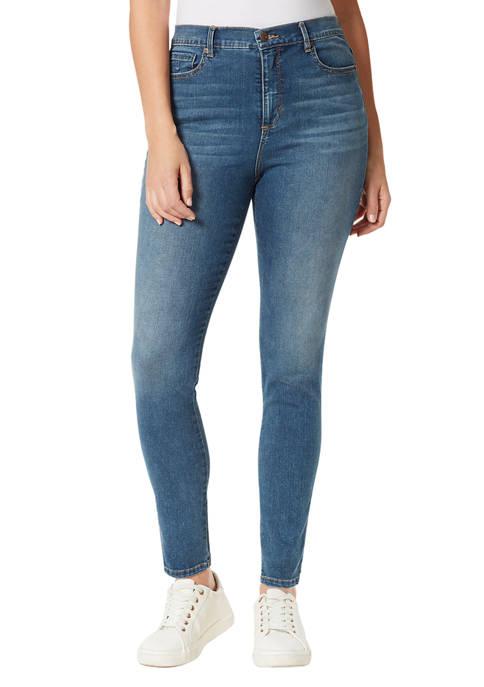 Gloria Vanderbilt Womens Amanda Skinny Short Length Jeans