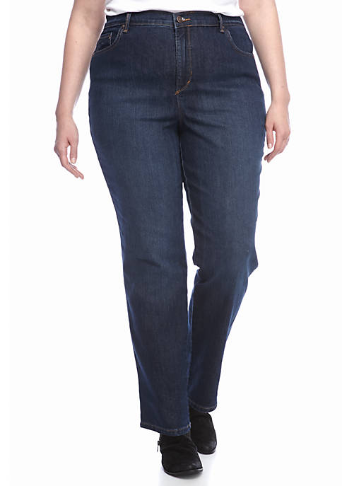 Gloria Vanderbilt Plus Size Amanda 5 Pocket Jean