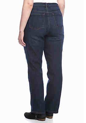 6b7b20aa872 ... Gloria Vanderbilt Plus Size Amanda 5 Pocket Jean (Short   Average  Inseams)