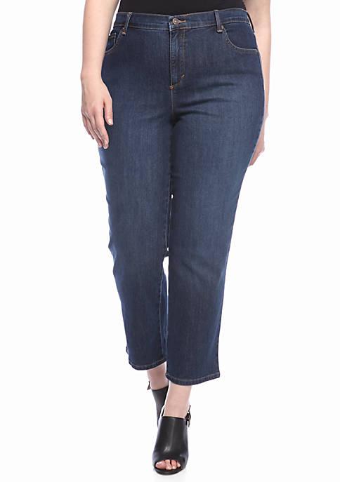 Gloria Vanderbilt Plus Size Amanda 5 Pocket Jean