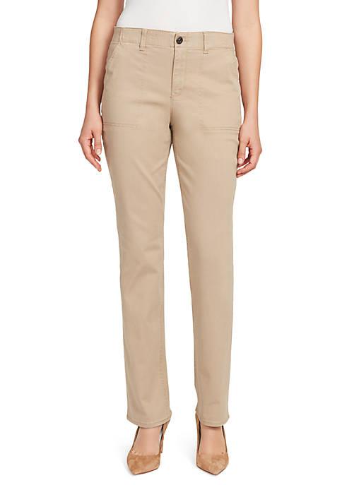Gloria Vanderbilt Petite Straight Leg Comfort Fit Jeans