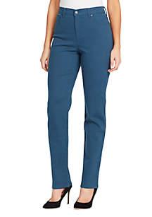Petite Straight Leg Comfort Fit Jeans