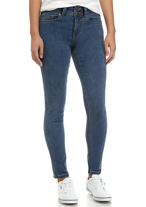 Slashed Knee High Rise Pant
