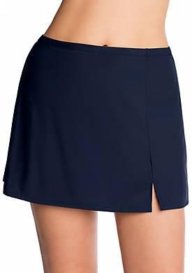 Side Slit Swim Skirt