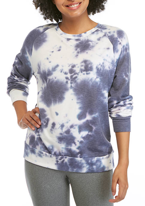 Pretty Rebellious Juniors Tie Dye Sweatshirt