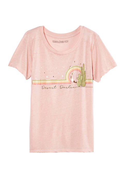Juniors Desert Darlin Graphic T-Shirt