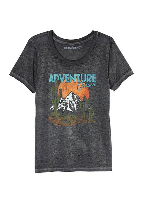 Rebellious One Adventure Chaser Burnout Short Sleeve T-Shirt