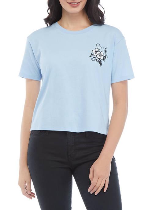 Miken Juniors Short Sleeve Floral Graphic T-Shirt