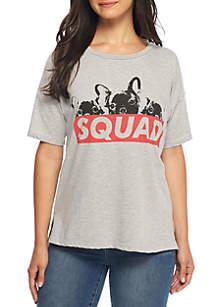 Short Sleeve Boxy Dog Squad Tee