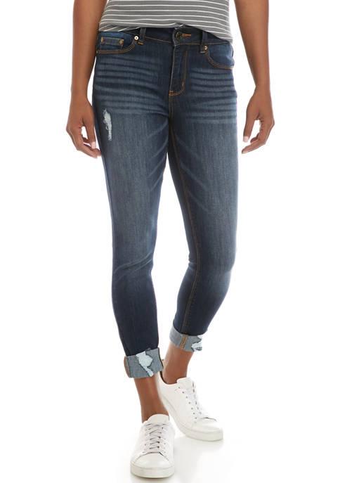 Indigo Rein Juniors Repreve Crop Jeans