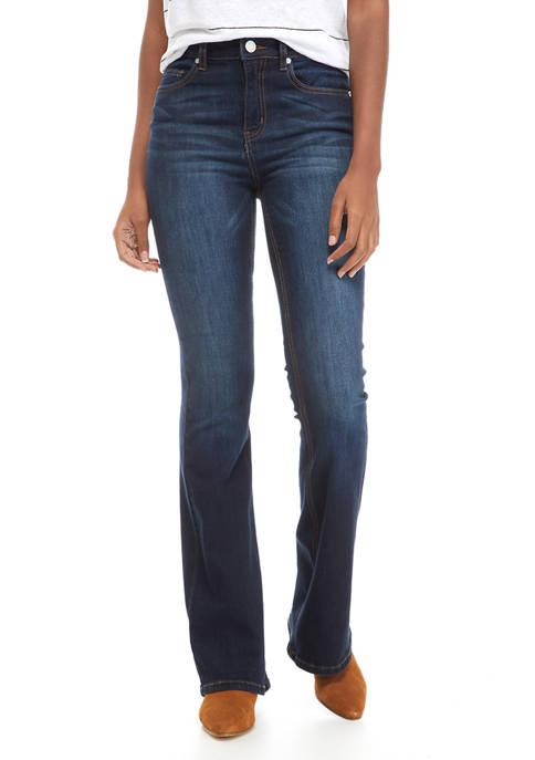 Indigo Rein Juniors High Rise Flare Jeans