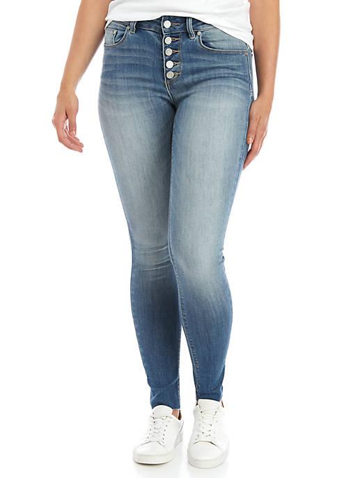 Big Cuff Skinny Jeans