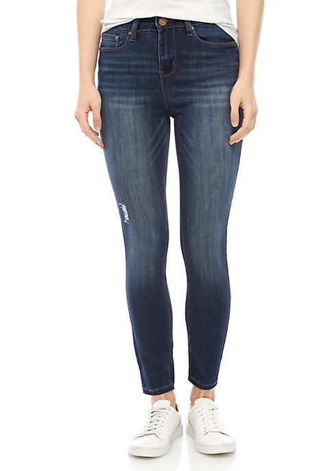 Indigo Rein Repreve® High Rise Skinny Jeans