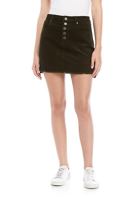 Indigo Rein Corduroy Skirt