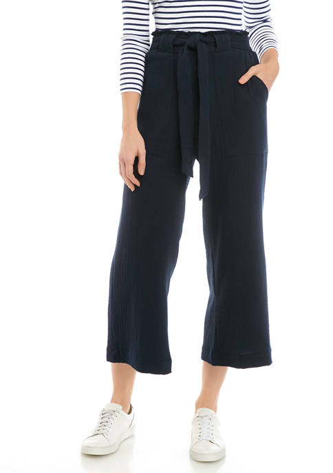 Indigo Rein Juniors Double Gauze Paper Bag Pants