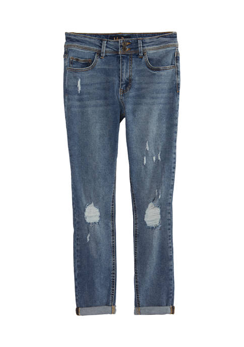Indigo Rein Juniors High Rise Skinny Leg Cotton