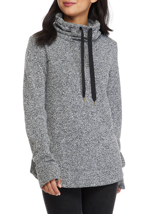 Crown & Ivy™ Womens Long Sleeve Funnel Neck