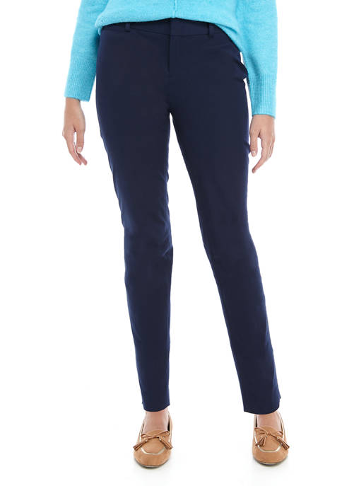 Crown & Ivy™ Cary Bi Stretch Fly Front