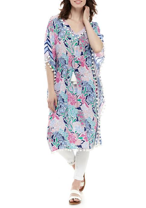 Crown & Ivy™ Kimono Sleeve Caftan Dress