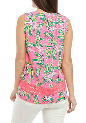 G by GUESS Mens Philo Floral-Print Tank