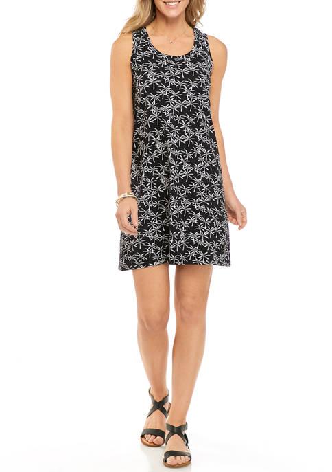 Crown & Ivy™ Womens Sleeveless T-Shirt Dress