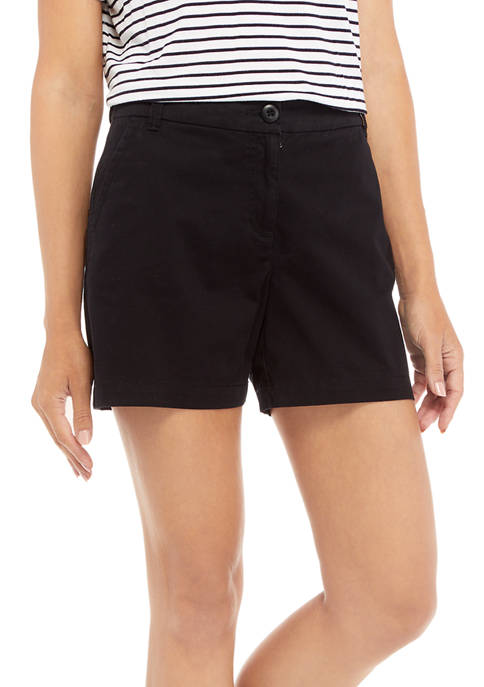 Crown & Ivy™ Womens 5-Inch Shorts