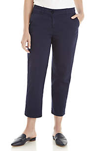 Crown & Ivy™ Charlotte Relaxed Roll Chinos