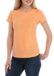 75671368fca Kim Rogers® Short Sleeve V Neck Fashion Top · Crown   Ivy™ Crew Neck Knit  Top