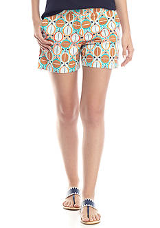 Crown & Ivy™ Woven Print Short