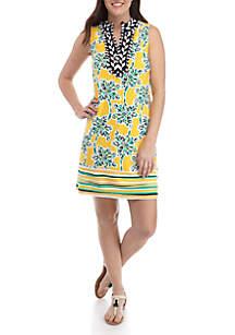 Crown & Ivy™ Sleeveless Printed Kurta Dress