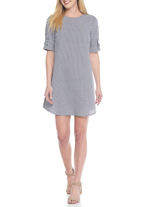 a4a0c6545117a Crown   Ivy™. Crown   Ivy™ Short Sleeve Bow Dress