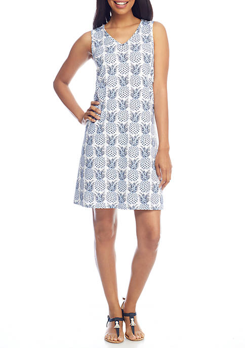 Crown & Ivy™ Sleeveless shift dress