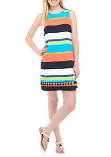 Sleeveless Double Tier Dress