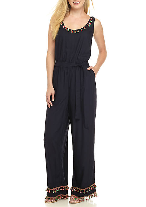 Crown & Ivy™ Sleeveless Jumpsuit