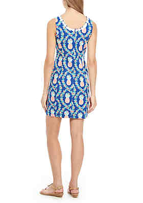 ff2a4b0abe ... Crown   Ivy™ Sleeveless Crochet Print Dress