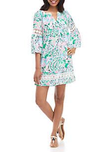 Crown & Ivy™ Floral Print Peasant Dress
