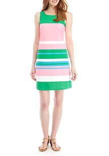 Crown & Ivy™ Bow Back Sleeveless Dress